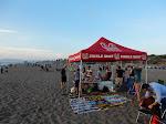 RCSA 2nd Annual Beach Day setup