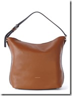 Karen Millen leather colourblock sling bag