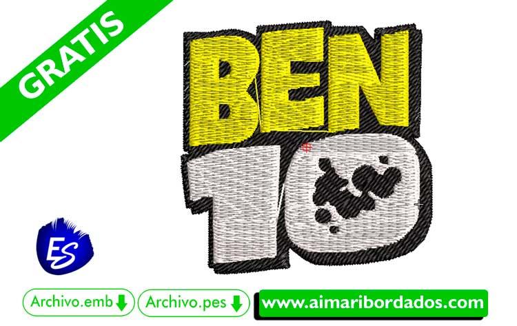 Logo BEN 10 Alien para bordar, descargar gratis