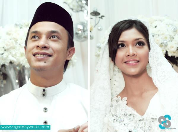gambar pernikahan sheira ayob dan zahiril adzim