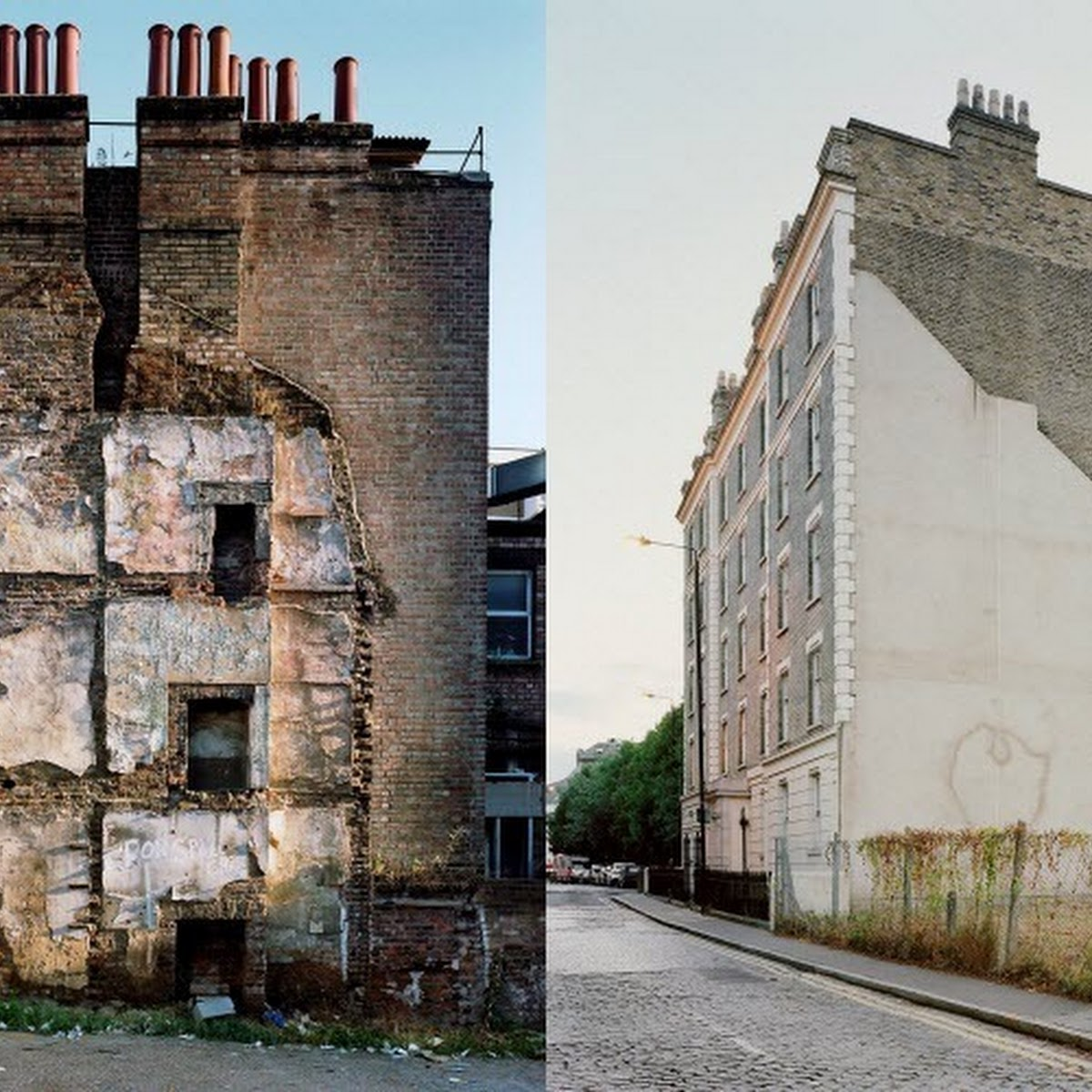 London's 'Missing Buildings' by Thom And Beth Atkinson