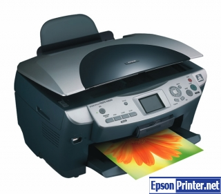 How to reset Epson RX630 printer