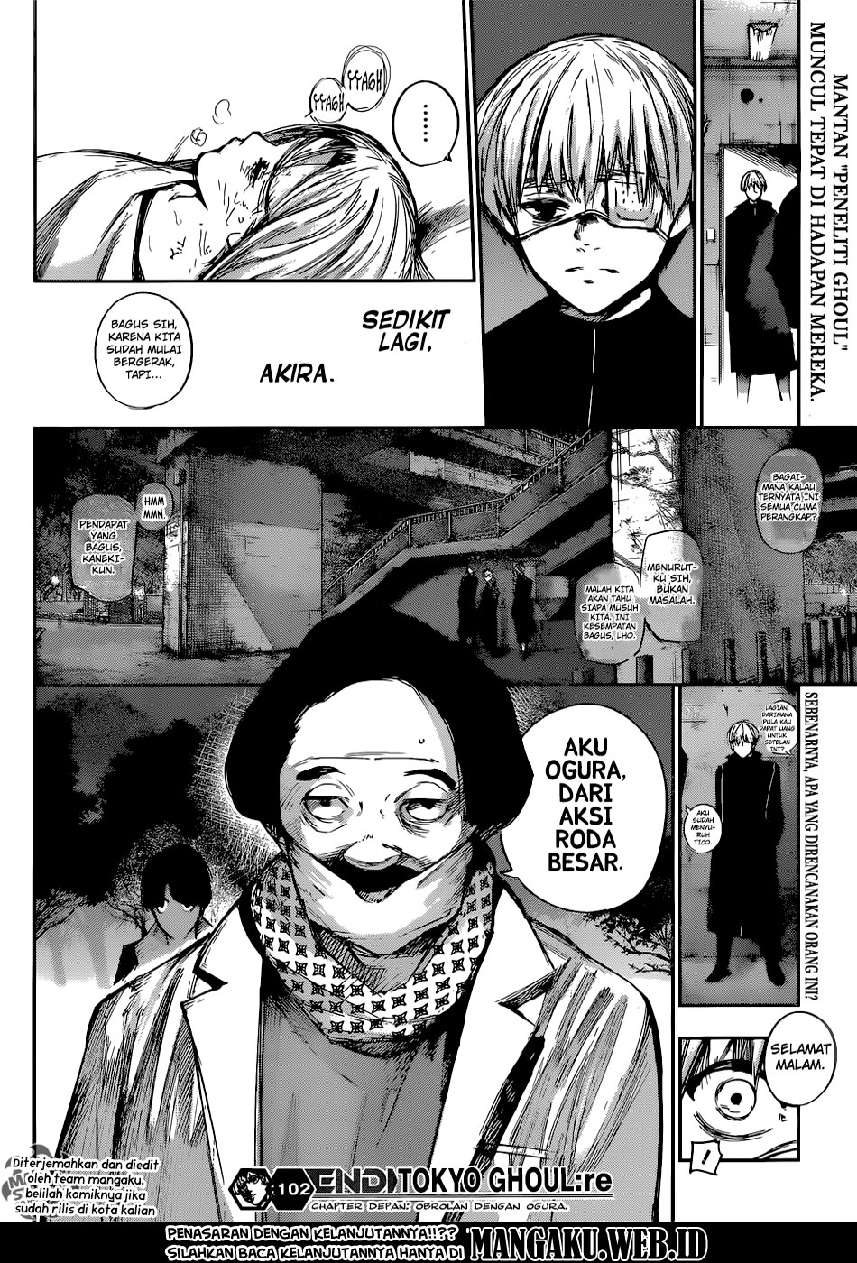Tokyo Ghoul: Re Chapter 102-19