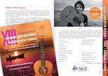 Programa del Concierto de Andrea Vettoretti, en Amigos de la Guitarra de Valencia