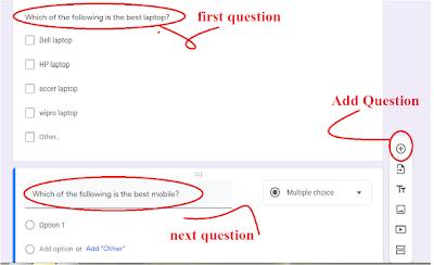 make google form for survey