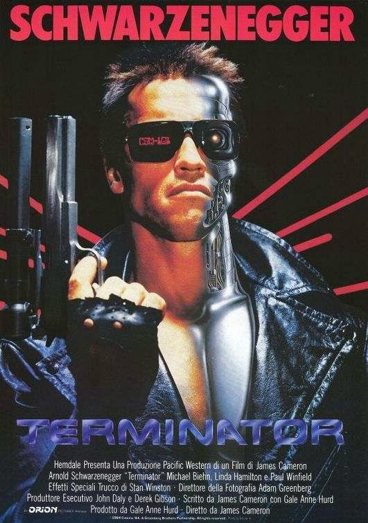 Poster Of The Terminator (1984) Full Movie Hindi Dubbed Free Download Watch Online At Alldownloads4u.Com