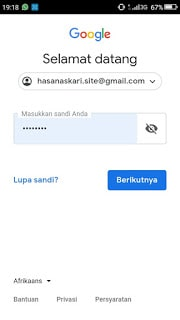 Hasan Askari: Tutorial Blogger Lengkap Menggunakan HP - #4 Mendaftar dan Membuat Blog - gambar 3