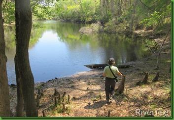 Oleno river rise
