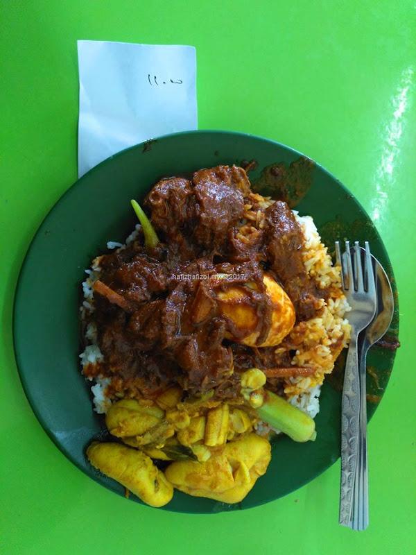 nasi kandar deen paling best di Penang 2017