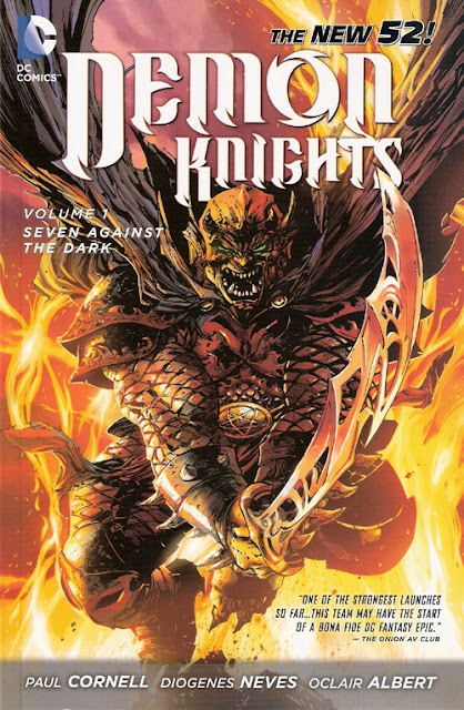 Demon Knights, v. 1: Seven Against the Dark cover