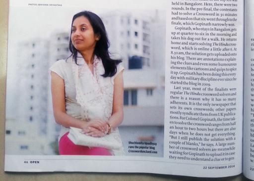 Open Magazine - Shuchismita Upadhyay