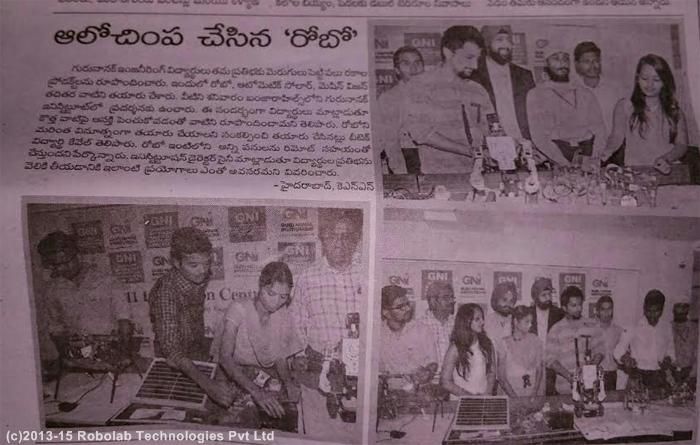 Guru Nanak Institutions Hyderabad, Robolab News(79).png