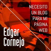 Necesito un blog para mi página web