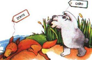El oso y la zorra lectura para niños