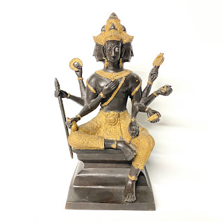 Bronze Brahma Sculpture