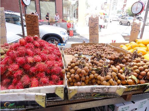 Fruit from Chinatown in New York City
