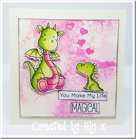My Favourite Things Stamp Set Dragon