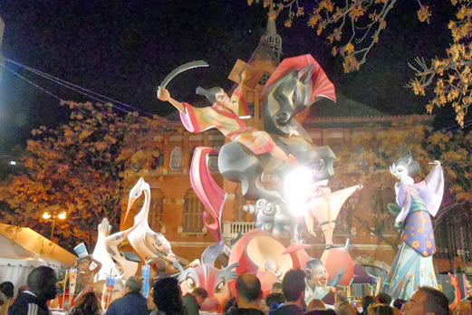 バレンシア火祭り/イメージ