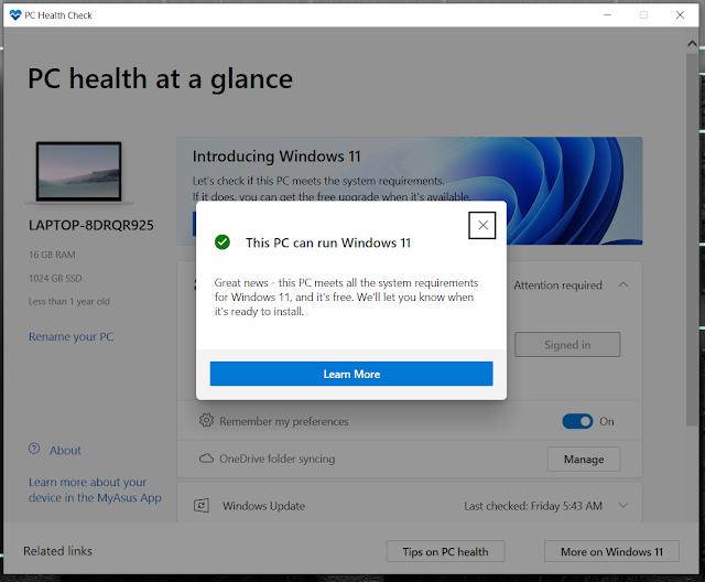 aplikasi untuk mengecek windows 11