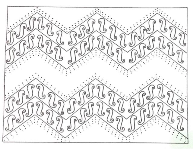 Cara Mewarnai Gambar Batik Warsiog