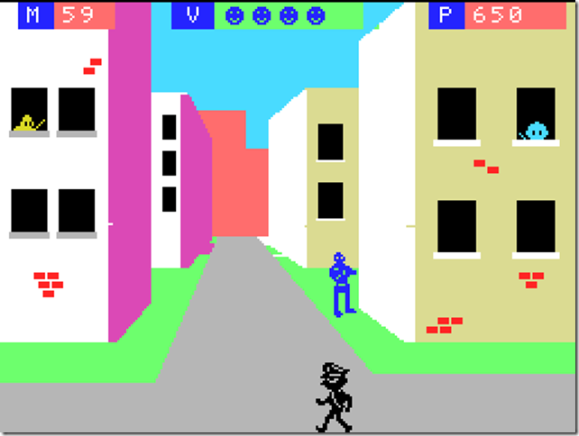 Olegario MSX pantalla juego