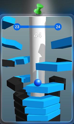 Code Triche Happy Stack Ball-crush helix jump mod apk screenshots 3