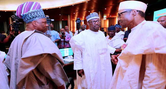 PHOTOS: Buhari's Meeting With Nigerian Governors' Forum