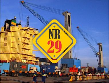 A NR 29 – Segurança e Saúde no Trabalho Portuário estabelece as medidas de segurança