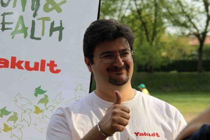 Marco Galiazzo a Padova per Run&Health Yakult