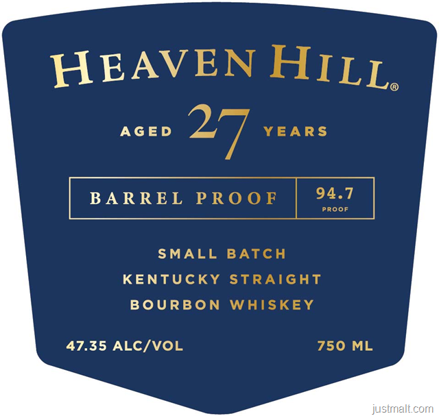 Heaven Hill 27-Year Barrel Proof Small Batch
