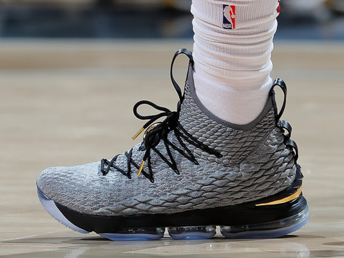 64bf058efaaf King James Goes Back to Nike LeBron 15 With New Cool Grey PE ...