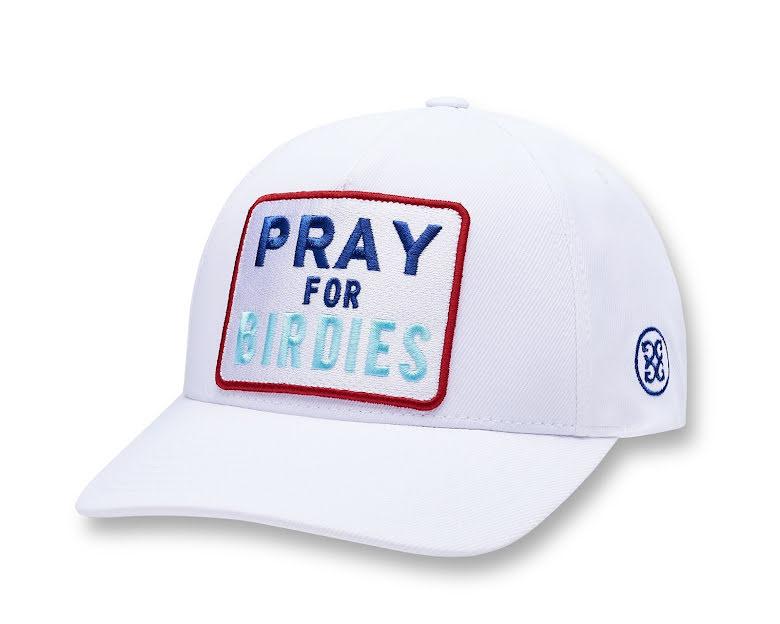 G/Fore Pray For Birdies golfkeps Vit