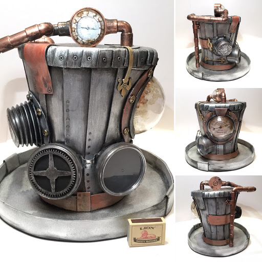5 Giant Steampunk hats