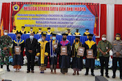 Wisuda Strata Satu Dan Ahli Madya Sekolah Tinggi Ilmu Ekonomi Bukit Zaitun Sorong TA. 2021
