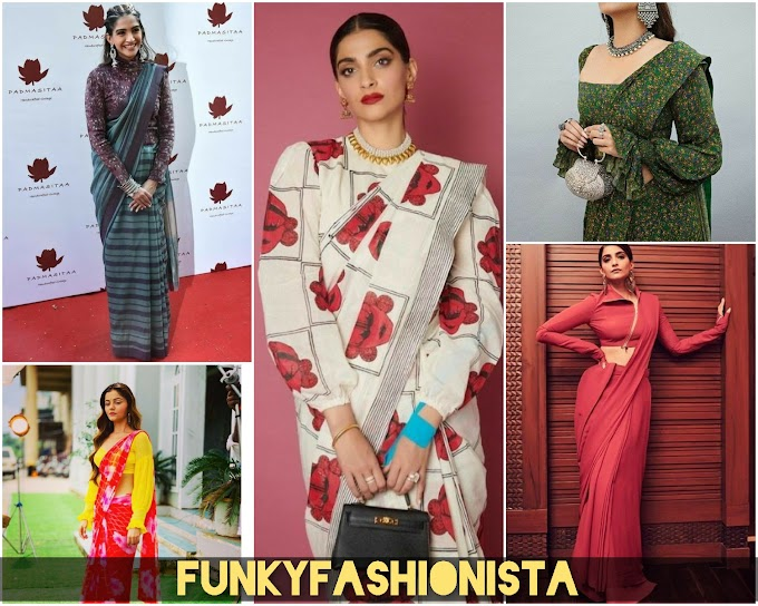 Amazing Way To Style Your Saree With This Trending Full Sleeves Blouse  