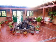 Patio de casa en el centro historico de Guadalajara