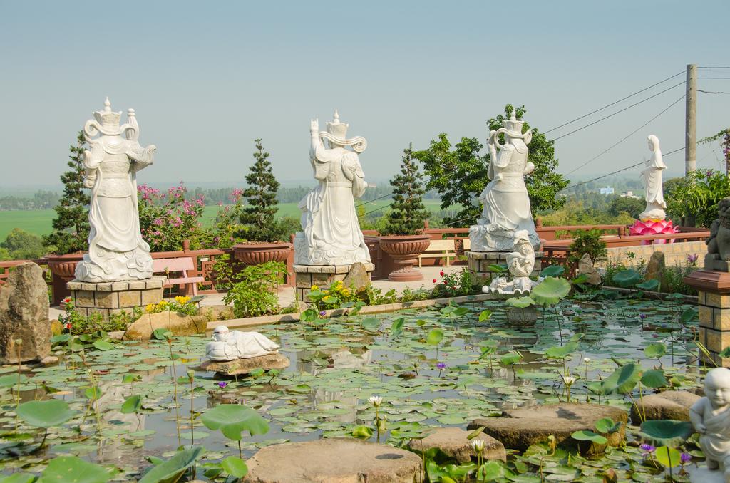 Chinese Temple, Sam Mountain, Chau Doc, Vietnam