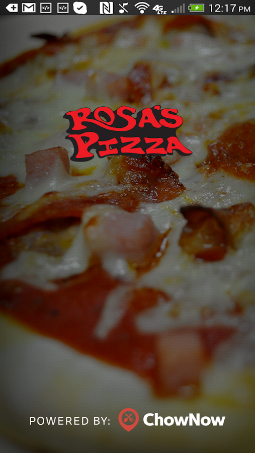 Rosa's Pizza- screenshot
