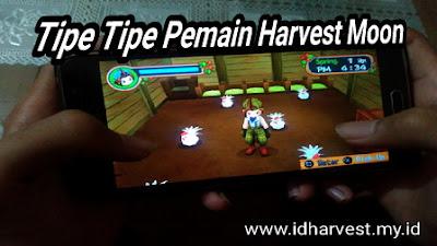 cukup tertarik untuk membahas postingan yang berbeda dari artikel yang pernah  Tipe Tipe Pemain Harvest Moon