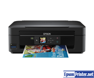 How to reset Epson ME-303 printer