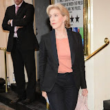 WWW.ENTSIMAGES.COM -  Patricia Hodge   arriving  at     Great Britain - press night at Theatre Royal Haymarket, London September 26th 2014West End Opening at Theatre Royal Haymarket for Richard Bean's GREAT BRITAIN -  Play about an ambitious tabloid editor in production described as anarchic satire about the press, the police and the political establishment.                                                    Photo Mobis Photos/OIC 0203 174 1069