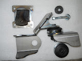 This is a universal engine mounting kit for engine swaps using the 57-66 364-401-425 Nailheads. 135.00 as pictured.