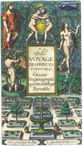 From Beroalde De Verville Le Voyage Des Princes Fortunez, Alchemical And Hermetic Emblems 1