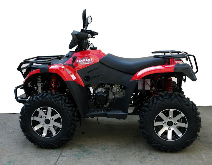 500 Linhai Yamaha ATV Farm 4x4 Quad Bike Side