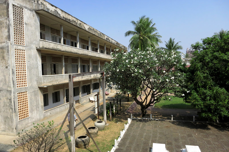 Tuol Sleng Prison Museum grounds