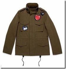 Dark Disney M65 Jacket in Military (34200MIA)