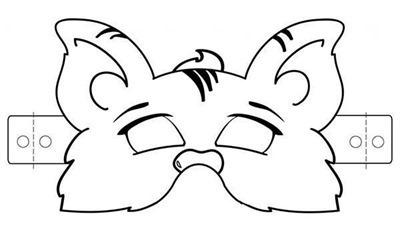 mascara de animales  para colorar (101)_thumb
