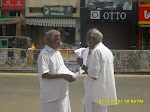 Agitation @ Karur against corruption in SC/ST training schemes