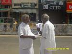 Agitation @ Karur against corruption in SC/ST training schemes