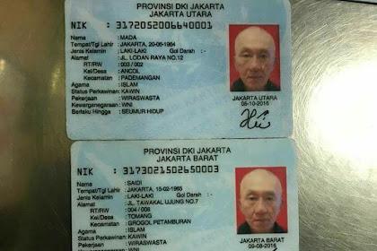 Heboh KTP Siluman Jakarta, 1 Orang Banyak KTP, Banyak Nama, Ini Penjelasan KPU